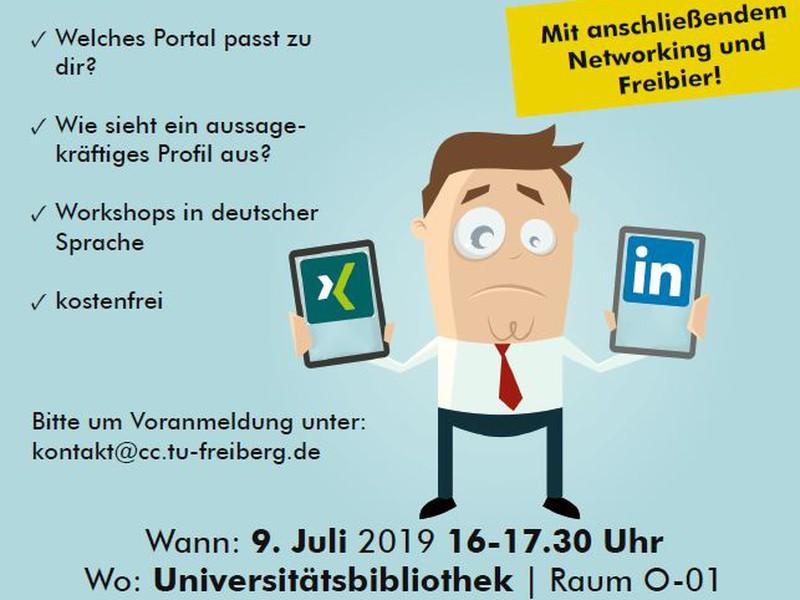 Deine Digitale Visitenkarte Xing Oder Linkedin Workshop